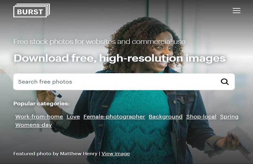 brust free images website list
