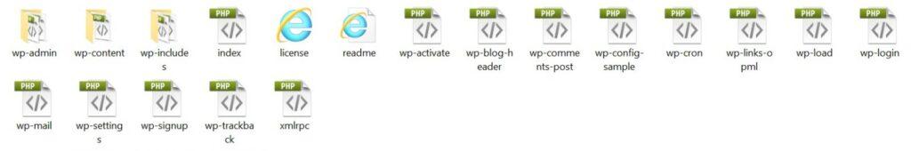 manual WordPress installation cpanel