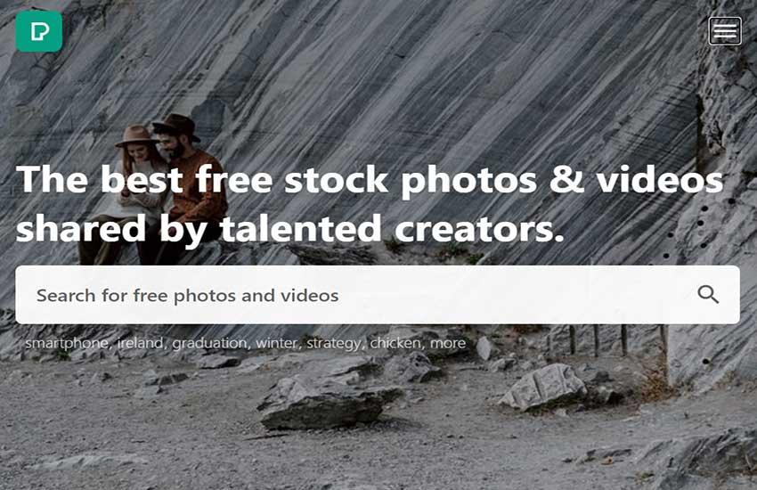 pexel free image webiste